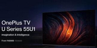 Oficial OnePlus TV 55U1, 43Y1 e 32Y1