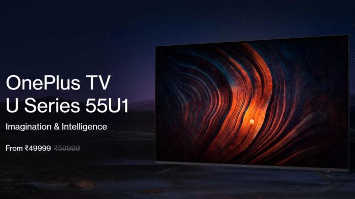 OnePlus TV 55U1, 43Y1 e 32Y1 ufficiali