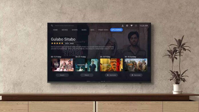 oneplus tv uy-serie slimme afstandsbediening netflix prime video youtube 4