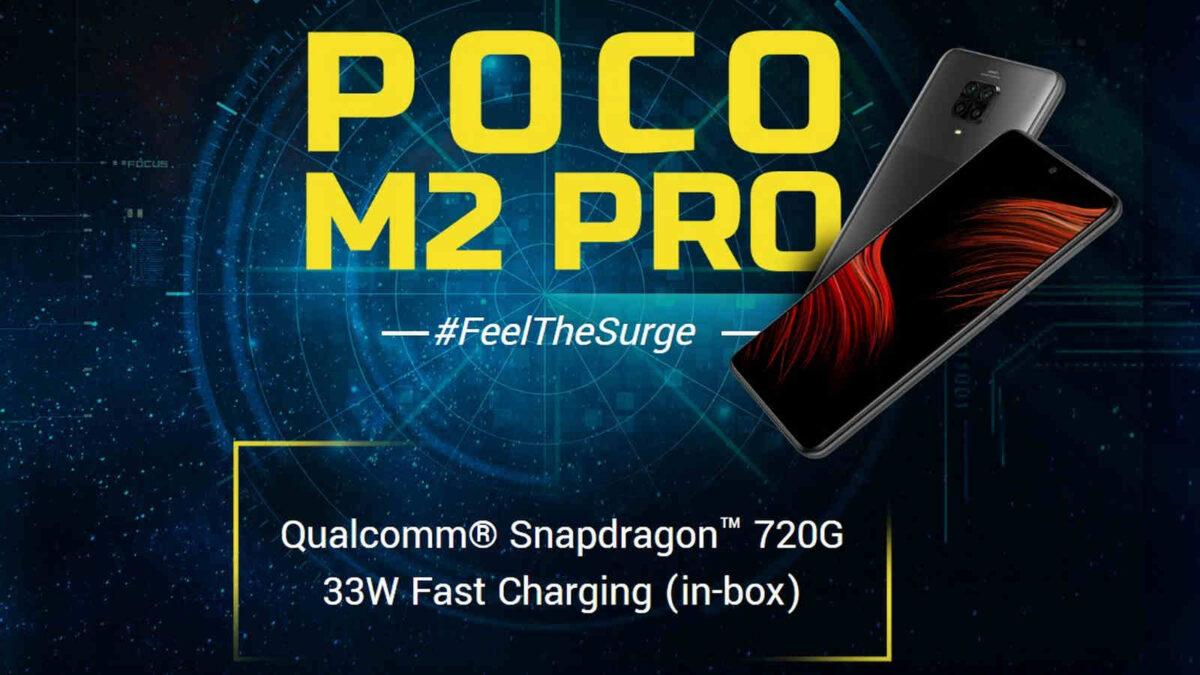 POCO M2 Pro ufficiale
