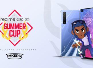 realme x50 summer cup