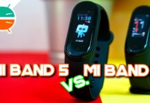 Xiaomi Mi Band 5 vs Mi Band 4 comparison comparison