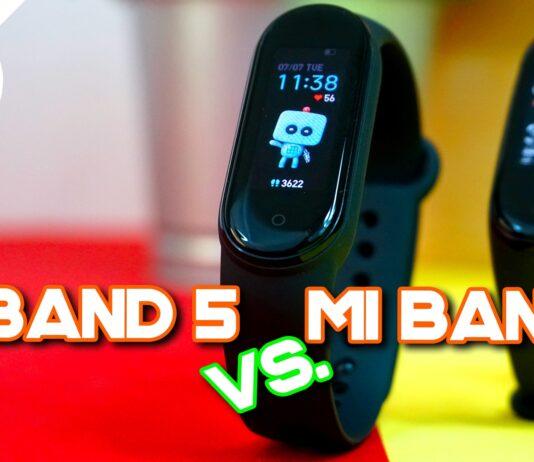 Comparação Xiaomi Mi Band 5 vs Mi Band 4