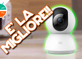 小米Mijia 1080p 360 wifi监控摄像头评论