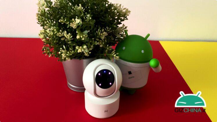 Recensione telecamera sorveglianza Xiaomi Mijia 1080p 360 wifi