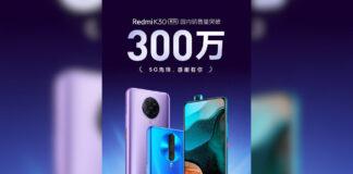 redmi k30 3 مليون مبيعات الصين