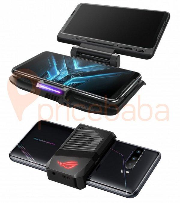 rog phone 3 accessori gaming controller kunai 3