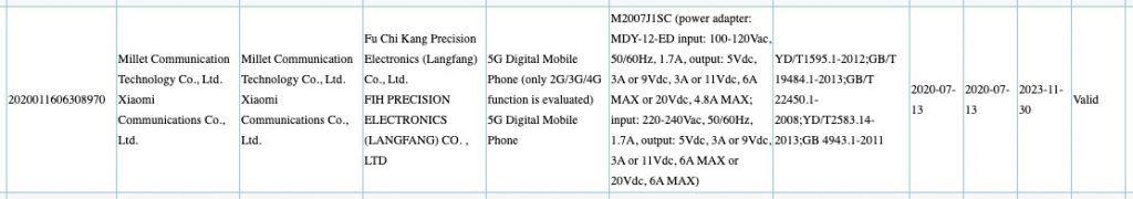 Xiaomi 120w