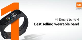 xiaomi mi band 4 smartband più venduta al mondo
