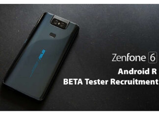 asus zenfone 6 android 11 beta