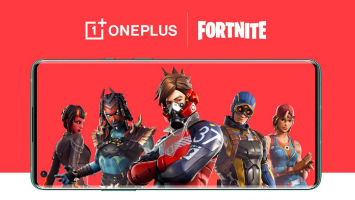 oneplus fortnite