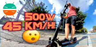 Recensione Kugoo Kirin M4 Pro monopattino elettrico 500w potente italia prezzo ruote fat sterrato copertina
