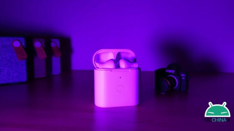 Recensione Recensione Homscam QCY T7 cloni airpods auricolari tws wireless bluetooth economici migliori prezzo italia