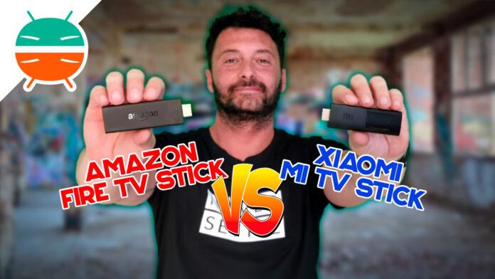 Xiaomi Mi TV Stick vs. Amazon Fire TV Stick: quale acquistare?