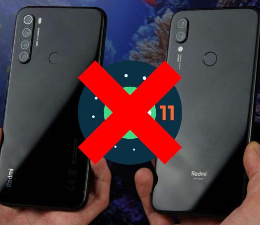 redmi note 7 redmi note 8 android 11
