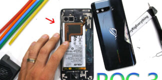 rog phone 3 teardown