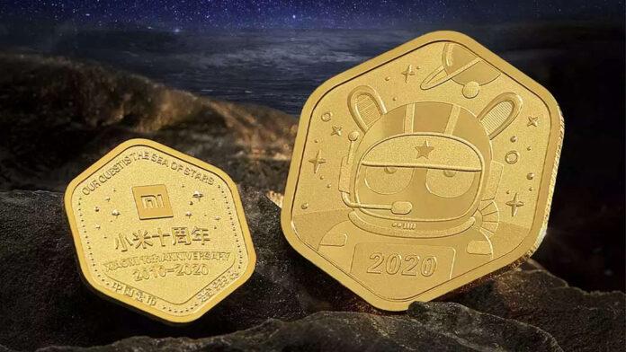 xiaomi moneta oro