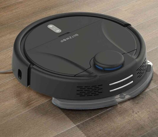 blitzwolf discount code bw-vc2 offers robot vacuum cleaner