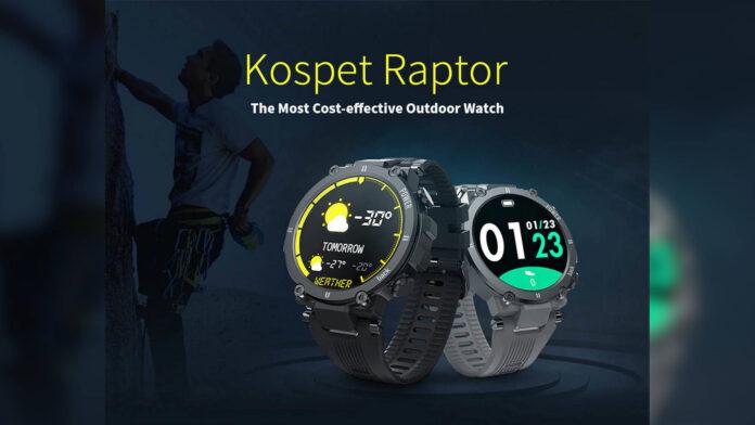 Código de desconto Kospet Raptor