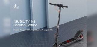 oferta de scooter elétrica niubility código de desconto n1