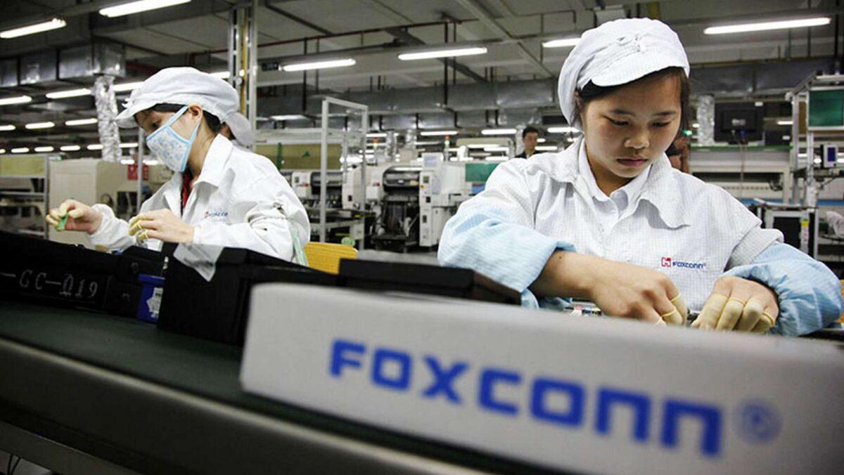 foxconn produzione fuori cina