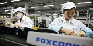 foxconn production outside china
