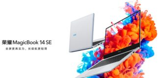 honor magicbook 14 se specifiche prezzo uscita