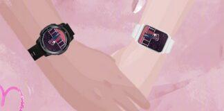 honorowa prostokątna tarcza smartwatcha