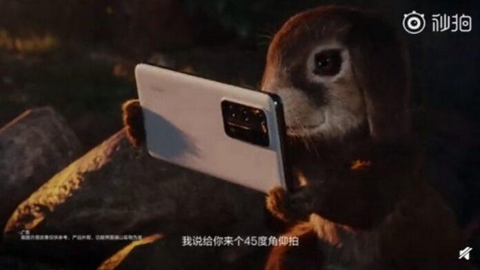 huawei p40 câmera curta animada