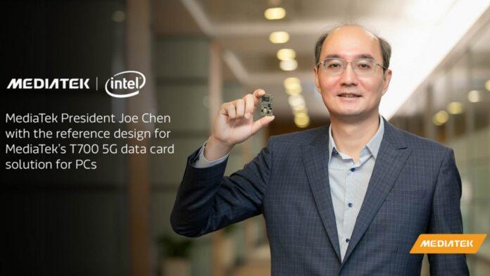mediatek intel chip modem 5g laptop t700