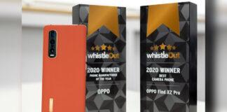 oppo find x2 pro caméra meilleur téléphone appareil photo 2020 sifflet