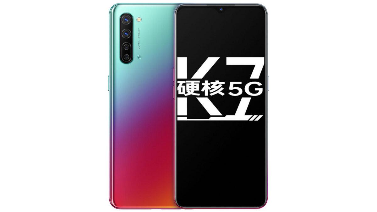 OPPO K7 5G ufficiale