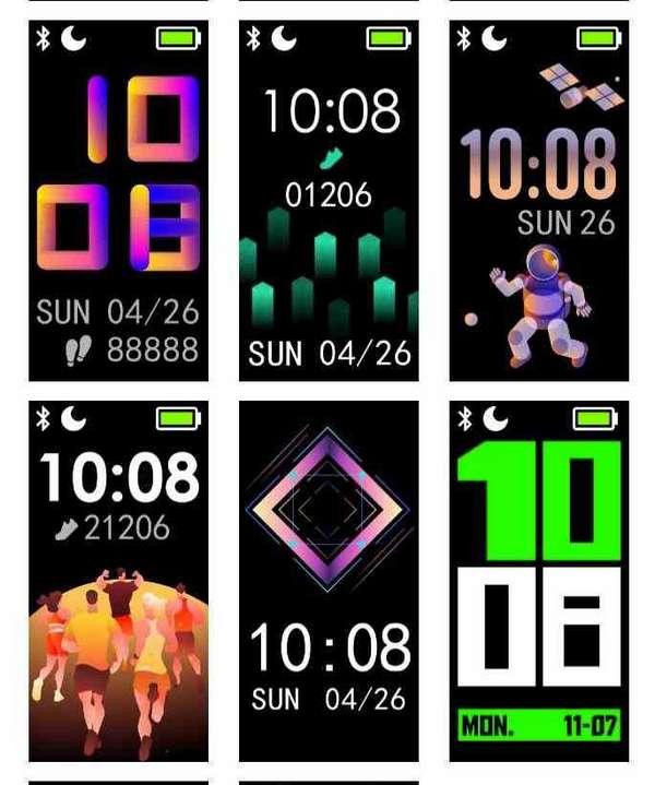 realme band aggiornamento 10.0 watch face 3