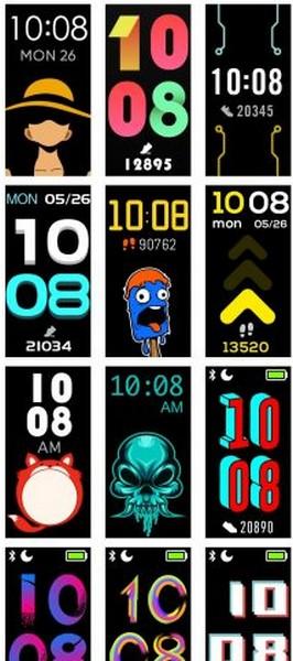 realme band aggiornamento 10.0 watch face