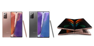 Samsung Galaxy Note 20 Galaxie Z-Falte 2