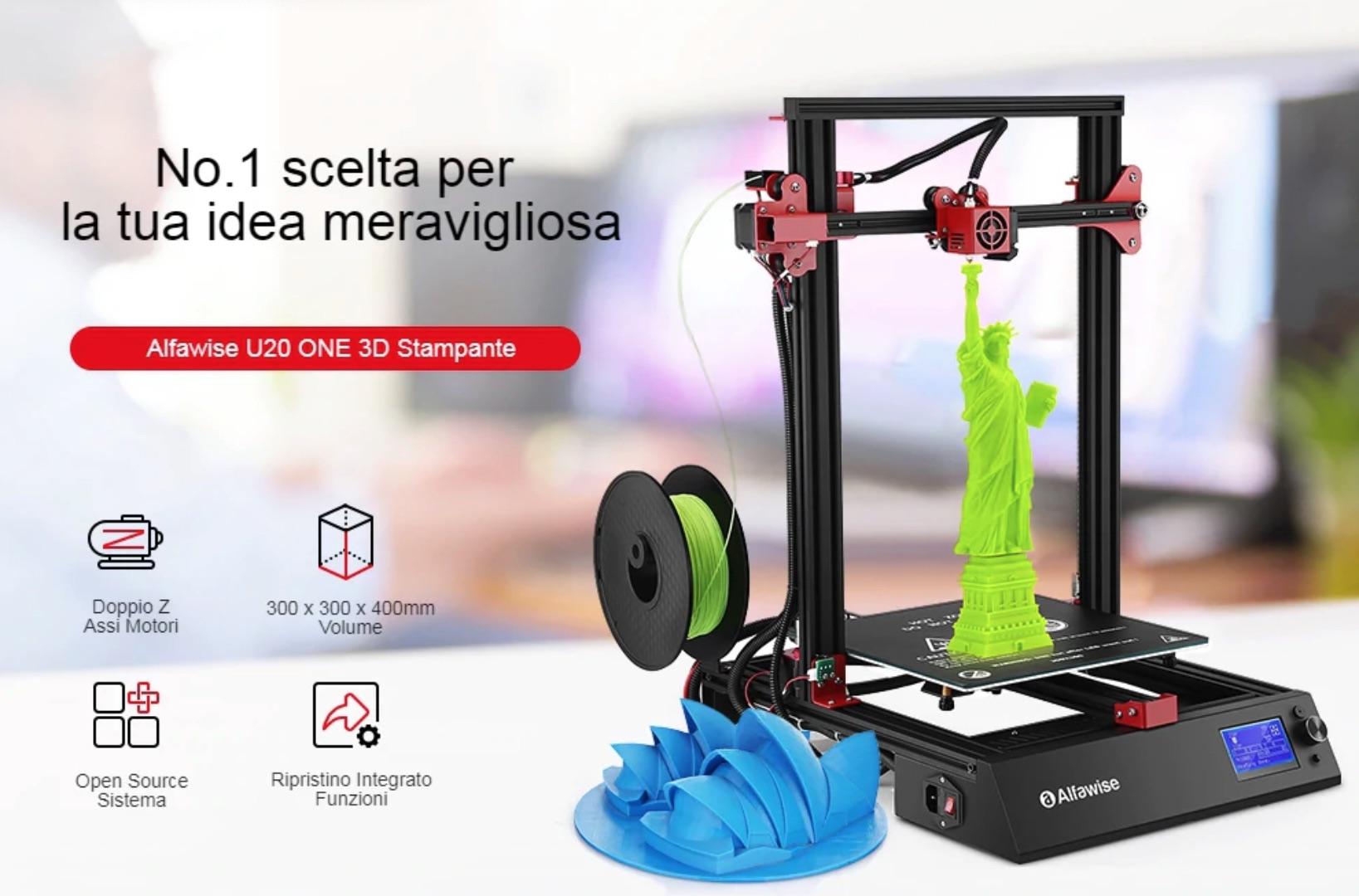 Alfawise U20 Stampante 3D – Gearbest