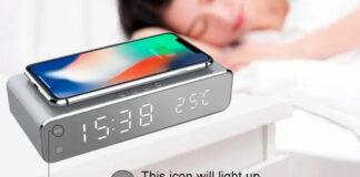 offerta banggood sveglia ricarica wireless