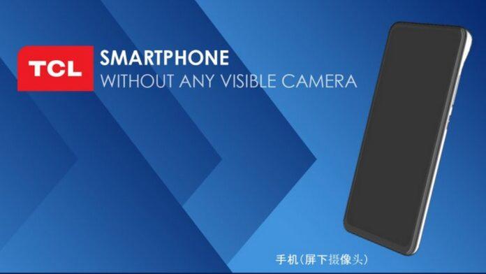 tcl smartphone full screen senza fotocamere brevetto 2
