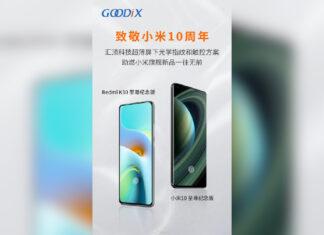 xiaomi mi 10 ultra redmi k30 fournisseurs chinois tcl goodix