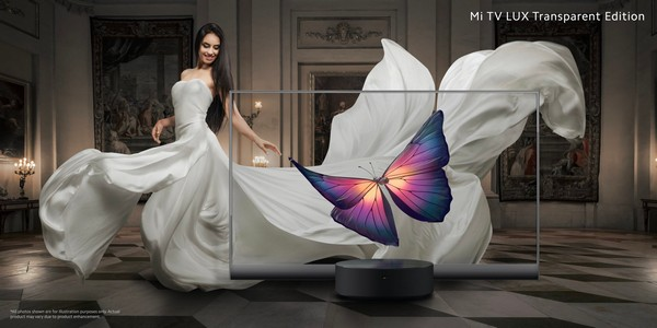 xiaomi mi tv lux transparent edition oled specifiche prezzo 3