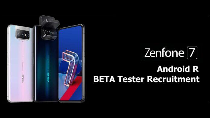 asus zenfone 7 pro android 11 beta