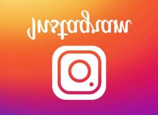 instagram w dół