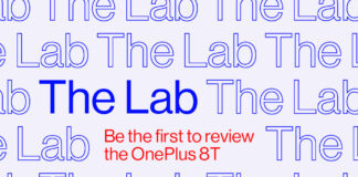 oneplus 8t the lab
