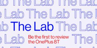 oneplus 8t o laboratório