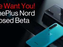 oneplus nord Closed Beta