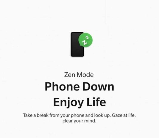 oneplus zen模式