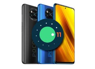 poco x3 android 11