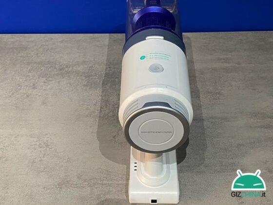Recensione Eufy HomeVac S11 Infinity aspirapolvere wireless senza fili anker economico amazon qualità prezzo potenza accessori