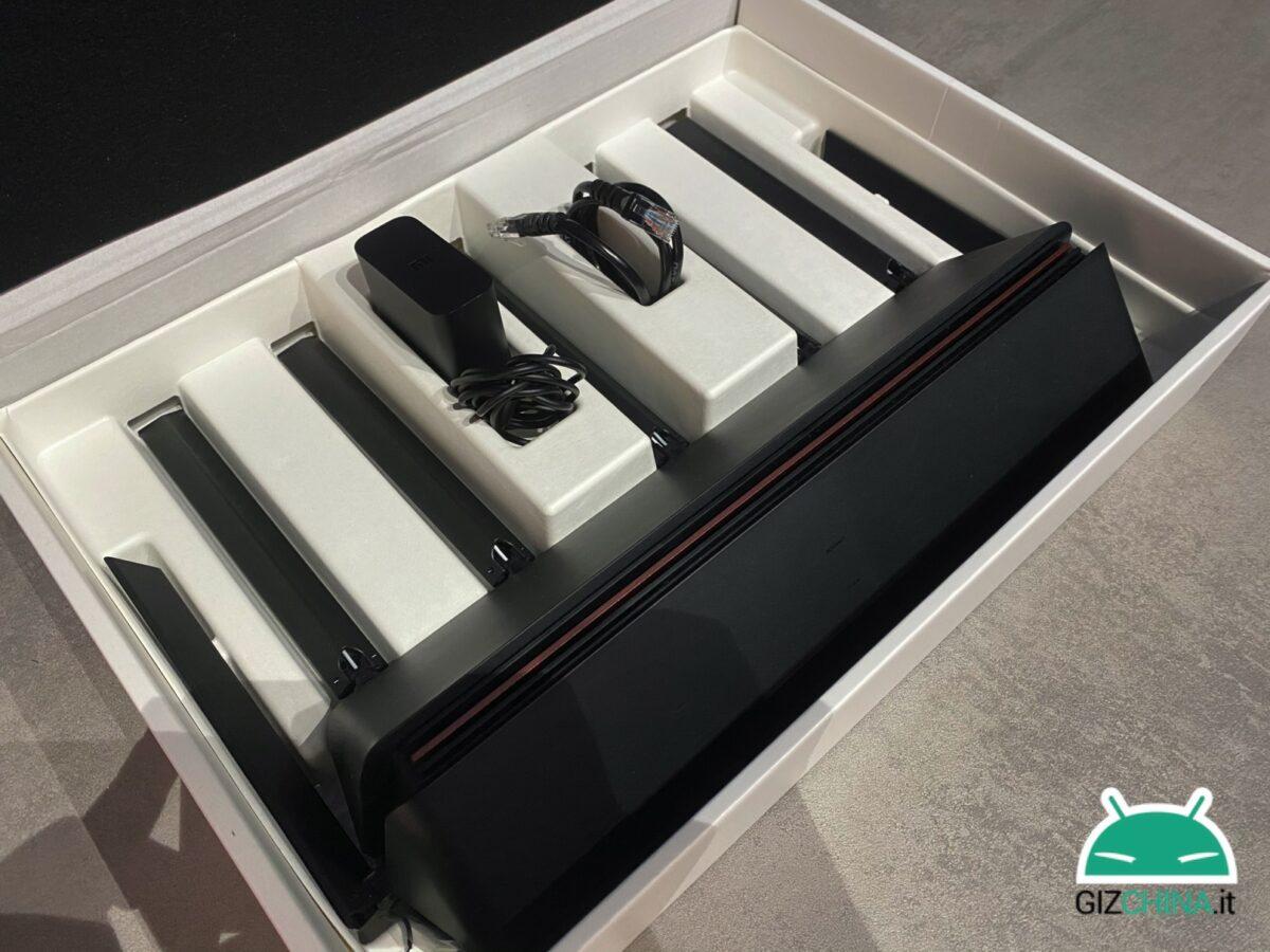 Recenzja routera Xiaomi AIoT AX6 WiFi 3600 jakość siła sygnału cena Włochy