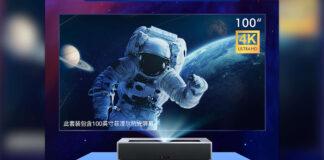 xiaomi fengmi 4K max laser projector